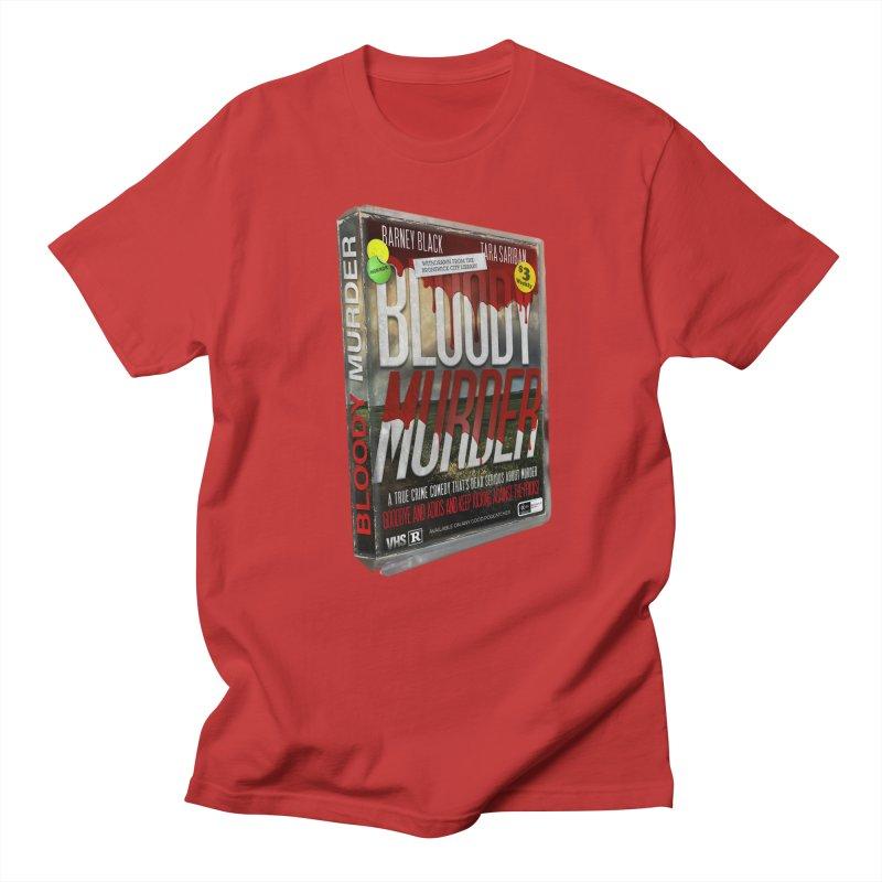 Bloody Murder VHS 1982 Women's Regular Unisex T-Shirt by bloodymurder's Artist Shop