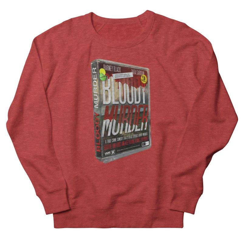 Bloody Murder VHS 1982 Men's French Terry Sweatshirt by Bloody Murder's Artist Shop