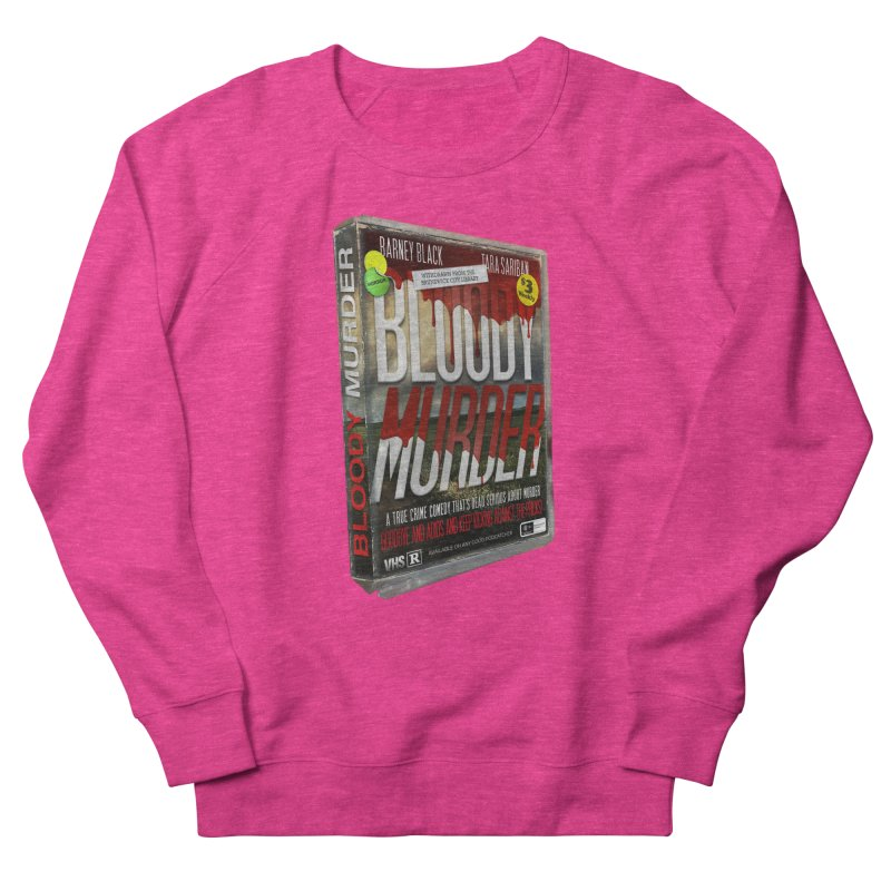 Bloody Murder VHS 1982 Men's French Terry Sweatshirt by Bloody Murder's Artist Shop