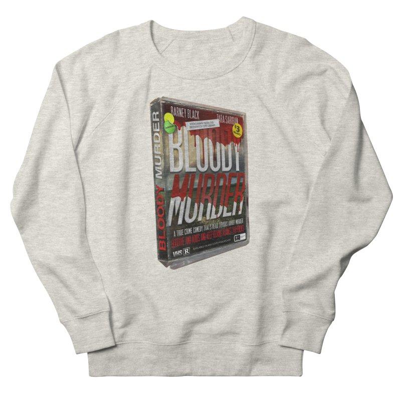 Bloody Murder VHS 1982 Men's French Terry Sweatshirt by bloodymurder's Artist Shop