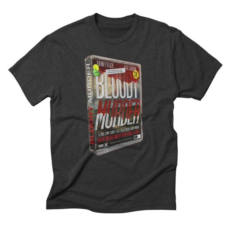 Bloody Murder VHS 1982 Men's Triblend T-Shirt by bloodymurder's Artist Shop