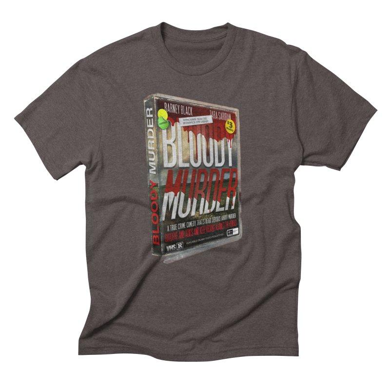 Bloody Murder VHS 1982 Men's Triblend T-Shirt by Bloody Murder's Artist Shop