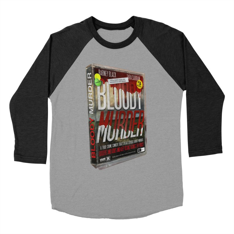 Bloody Murder VHS 1982 Women's Baseball Triblend Longsleeve T-Shirt by bloodymurder's Artist Shop