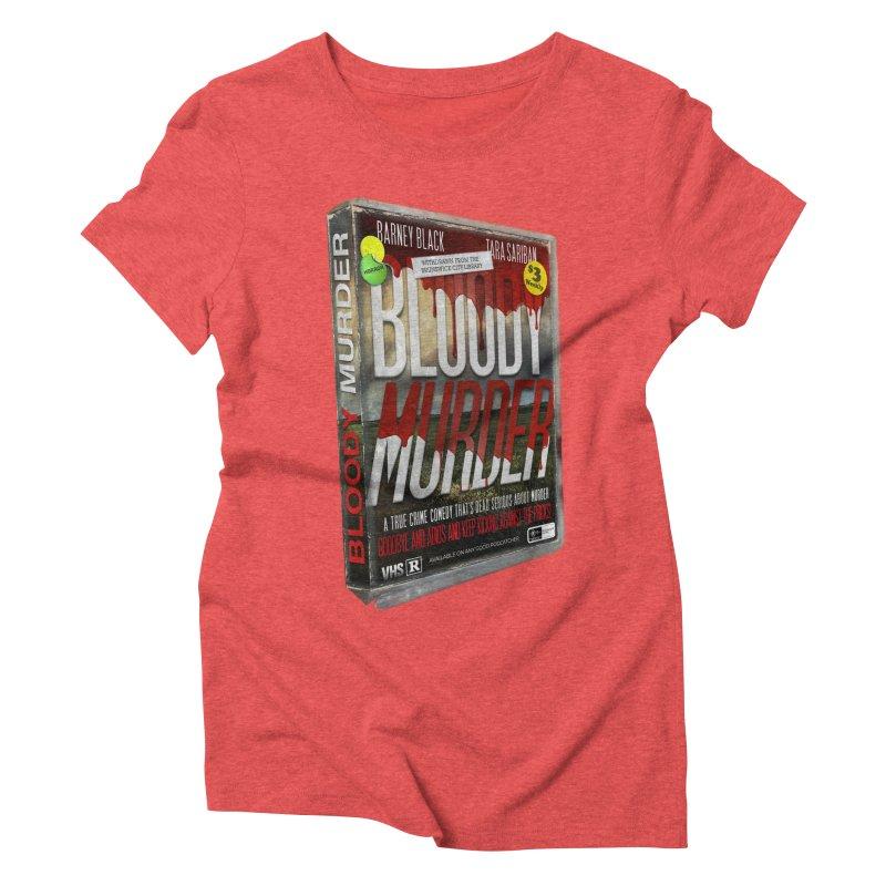 Bloody Murder VHS 1982 Women's Triblend T-Shirt by Bloody Murder's Artist Shop