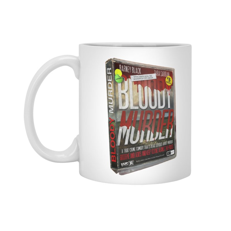 Bloody Murder VHS 1982 Accessories Standard Mug by Bloody Murder's Artist Shop