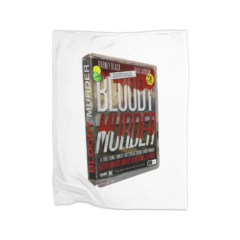 Bloody Murder VHS 1982 Home Blanket by bloodymurder's Artist Shop