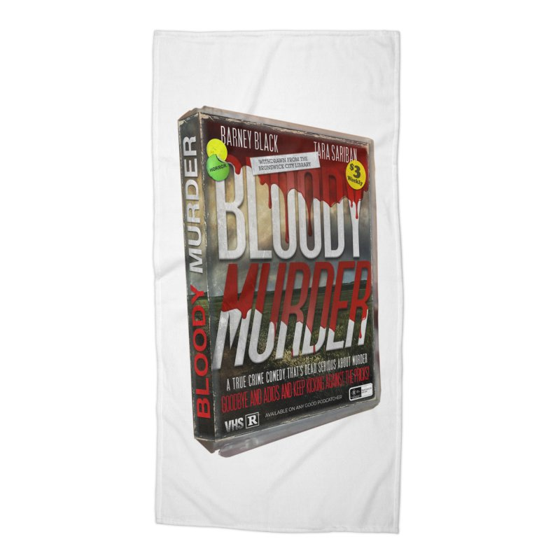 Bloody Murder VHS 1982 Accessories Beach Towel by bloodymurder's Artist Shop