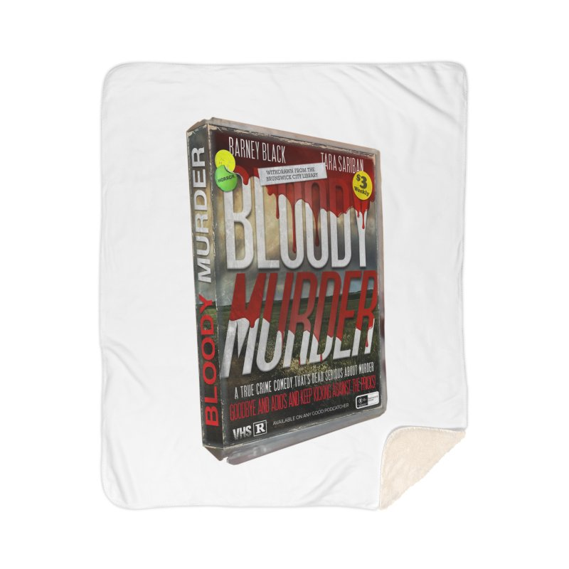 Bloody Murder VHS 1982 Home Blanket by Bloody Murder's Artist Shop