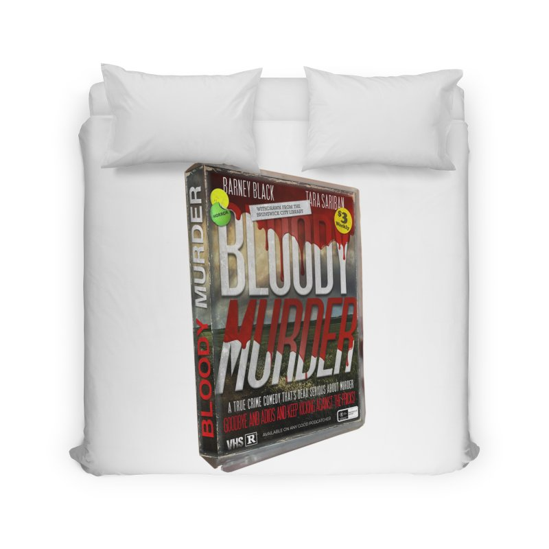 Bloody Murder VHS 1982 Home Duvet by bloodymurder's Artist Shop