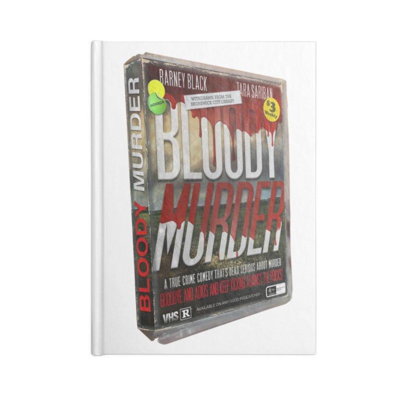 Bloody Murder VHS 1982 Accessories Blank Journal Notebook by Bloody Murder's Artist Shop