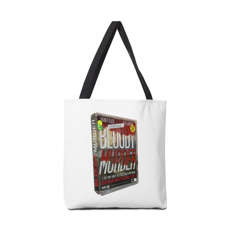 Bloody Murder VHS 1982 Accessories Tote Bag Bag by Bloody Murder's Artist Shop