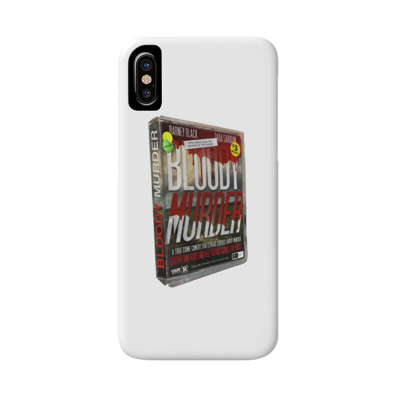 Bloody Murder VHS 1982 Accessories Phone Case by bloodymurder's Artist Shop
