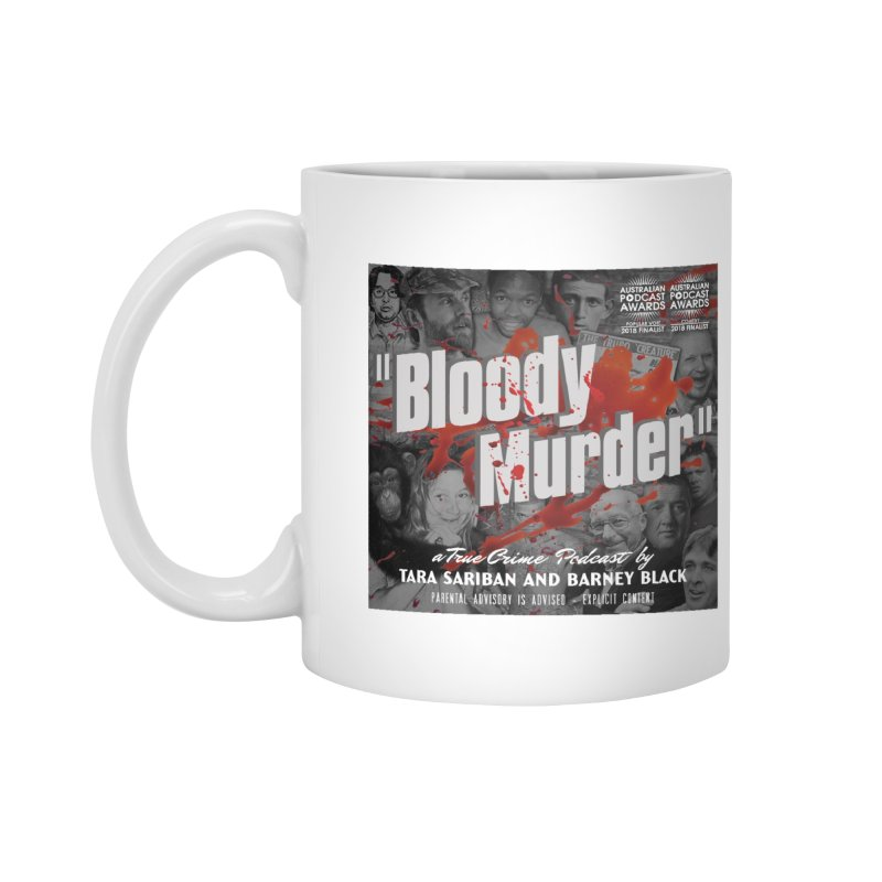 Bloody Murder Podcast Album Cover Accessories Mug by Bloody Murder's Artist Shop