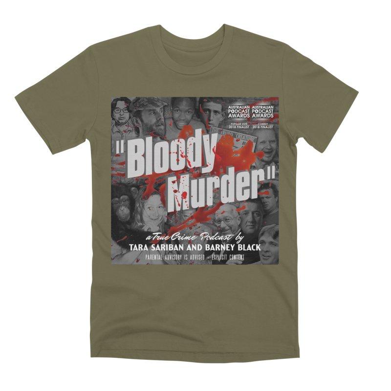 Bloody Murder Podcast Album Cover Men's Premium T-Shirt by Bloody Murder's Artist Shop