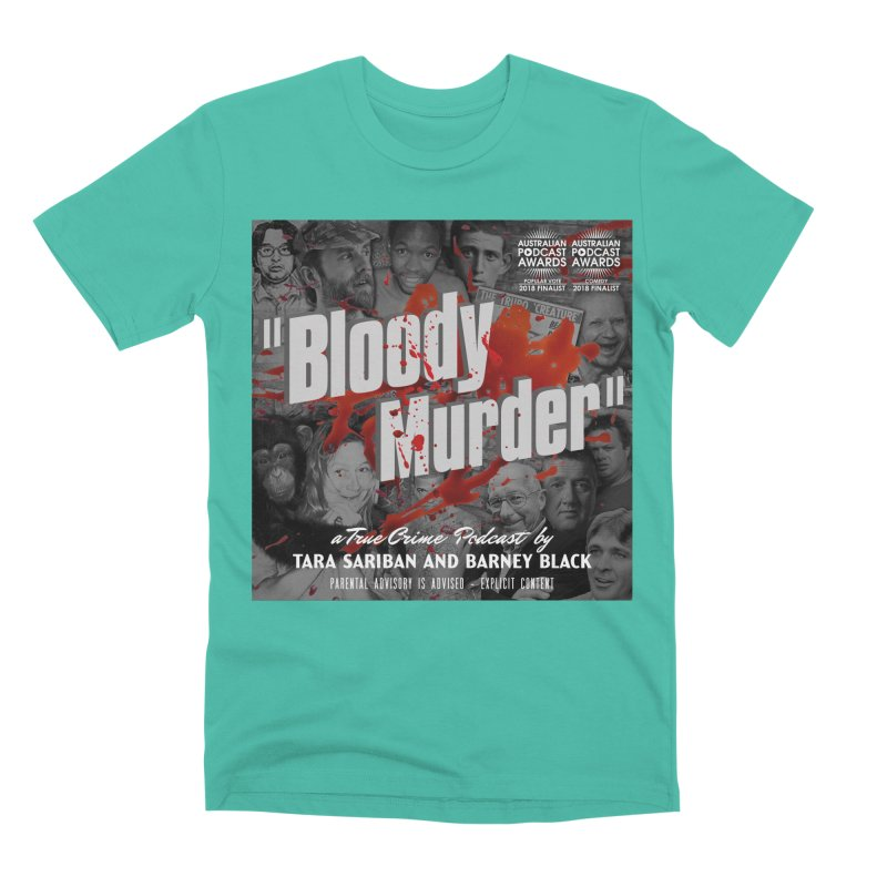 Bloody Murder Podcast Album Cover Men's Premium T-Shirt by bloodymurder's Artist Shop