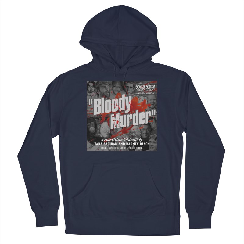 Bloody Murder Podcast Album Cover Men's Pullover Hoody by Bloody Murder's Artist Shop