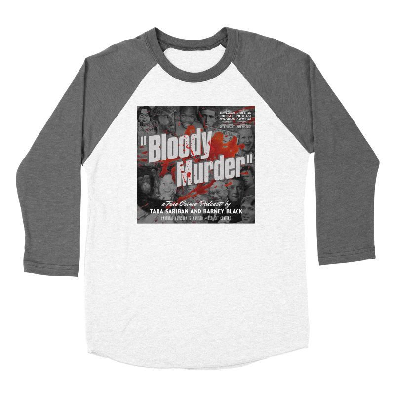 Bloody Murder Podcast Album Cover Women's Longsleeve T-Shirt by Bloody Murder's Artist Shop