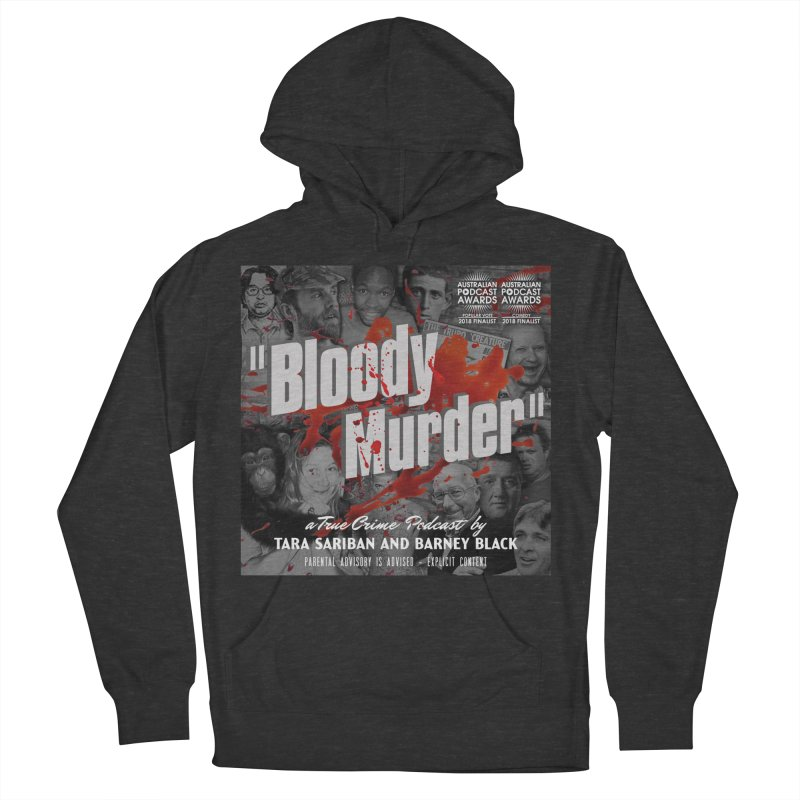 Bloody Murder Podcast Album Cover Women's French Terry Pullover Hoody by bloodymurder's Artist Shop