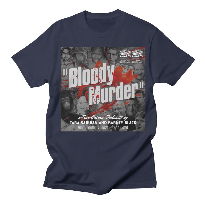 Bloody Murder Podcast Album Cover Men's T-Shirt by Bloody Murder's Artist Shop