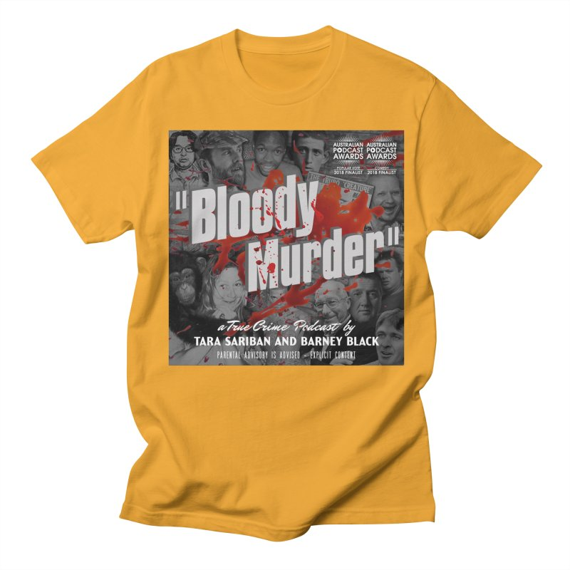 Bloody Murder Podcast Album Cover Men's Regular T-Shirt by Bloody Murder's Artist Shop