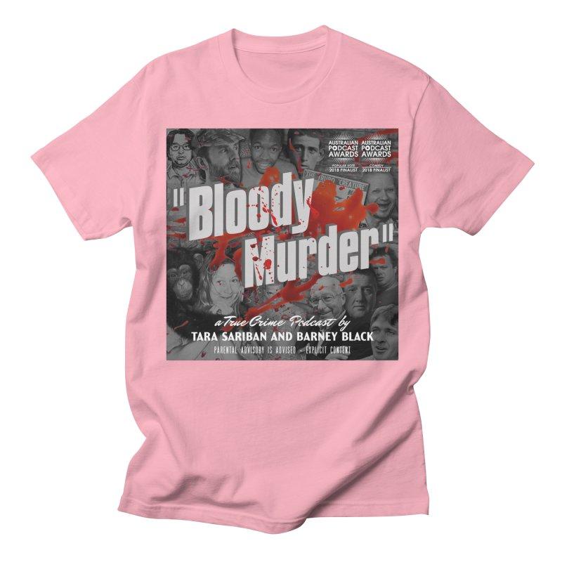 Bloody Murder Podcast Album Cover Men's T-Shirt by Bloody Murder's Artist Shop