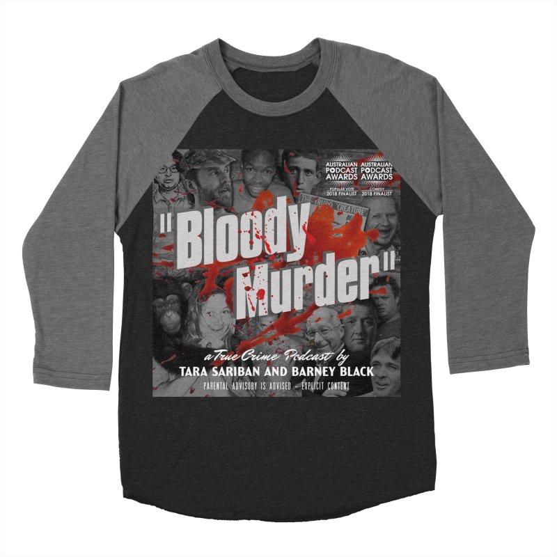 Bloody Murder Podcast Album Cover Women's Baseball Triblend Longsleeve T-Shirt by bloodymurder's Artist Shop