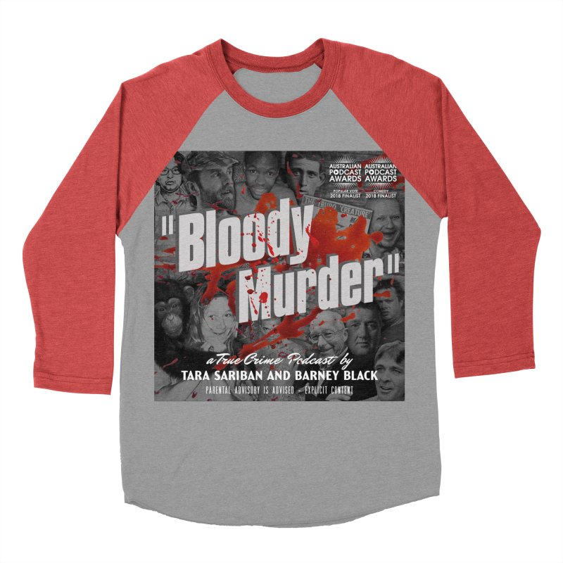 Bloody Murder Podcast Album Cover Men's Longsleeve T-Shirt by Bloody Murder's Artist Shop