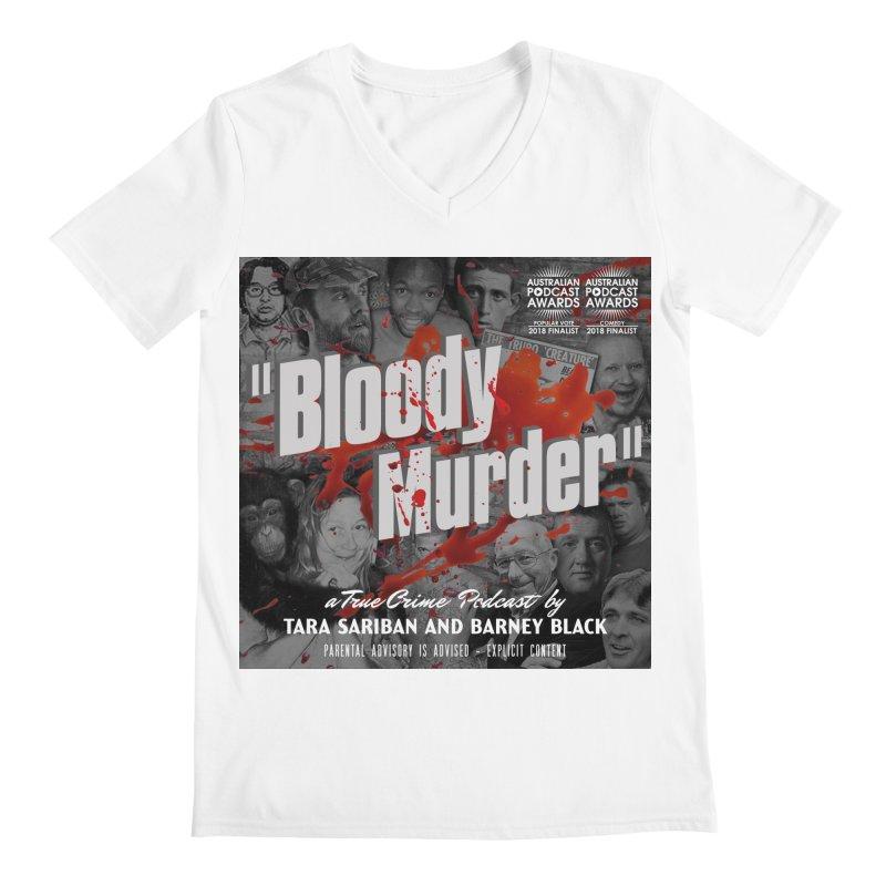 Bloody Murder Podcast Album Cover Men's V-Neck by Bloody Murder's Artist Shop