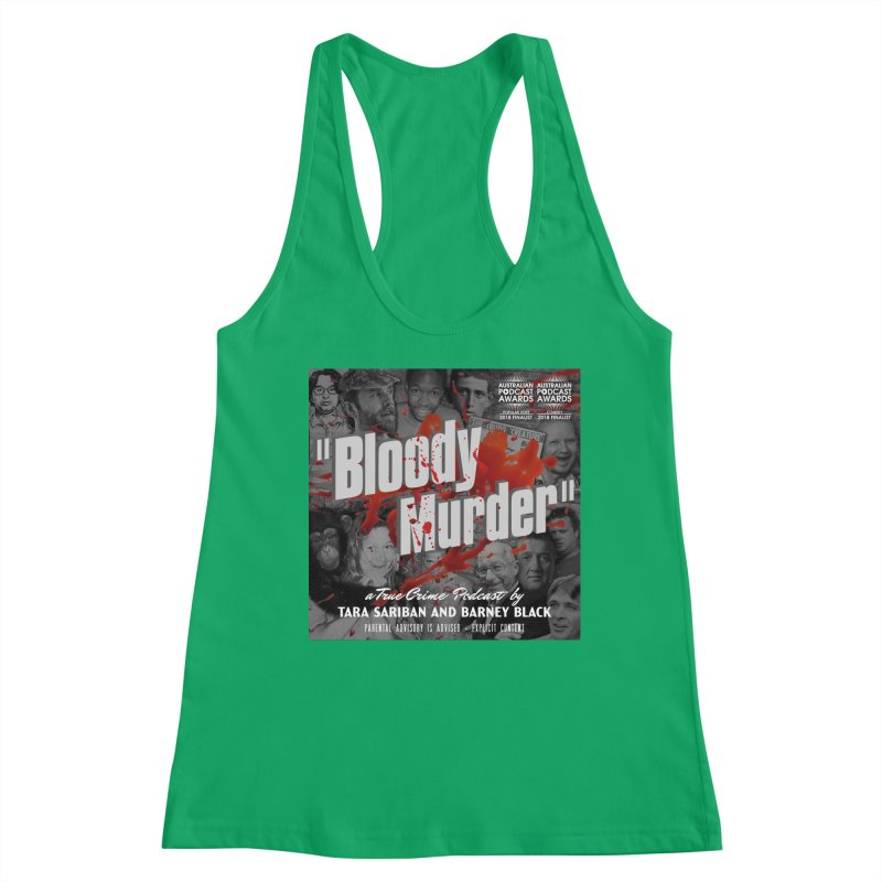 Bloody Murder Podcast Album Cover Women's Tank by Bloody Murder's Artist Shop