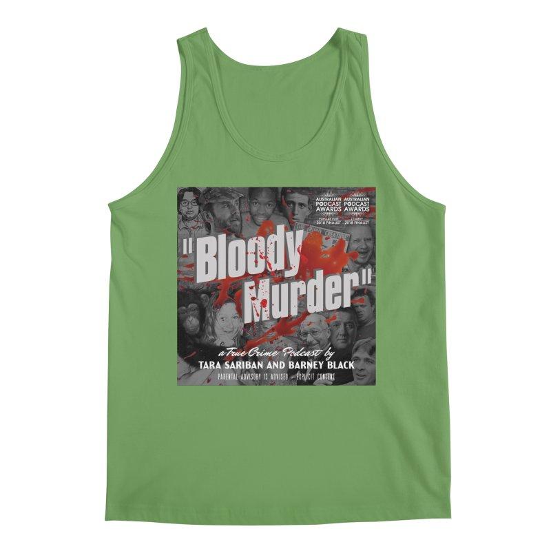 Bloody Murder Podcast Album Cover Men's Tank by Bloody Murder's Artist Shop