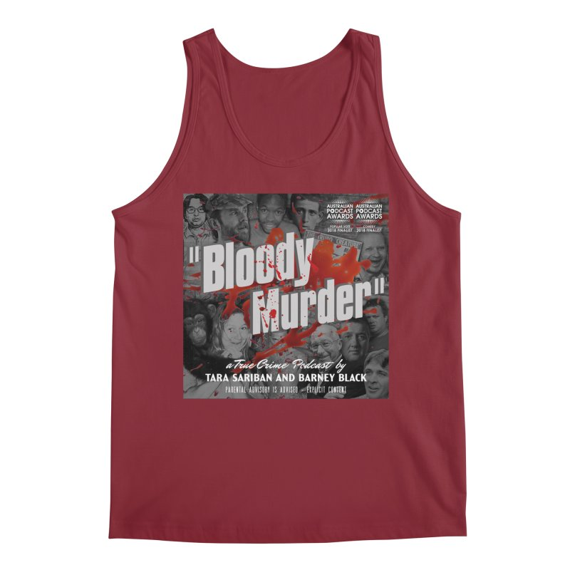 Bloody Murder Podcast Album Cover Men's Tank by Bloody Murder's Artist Shop