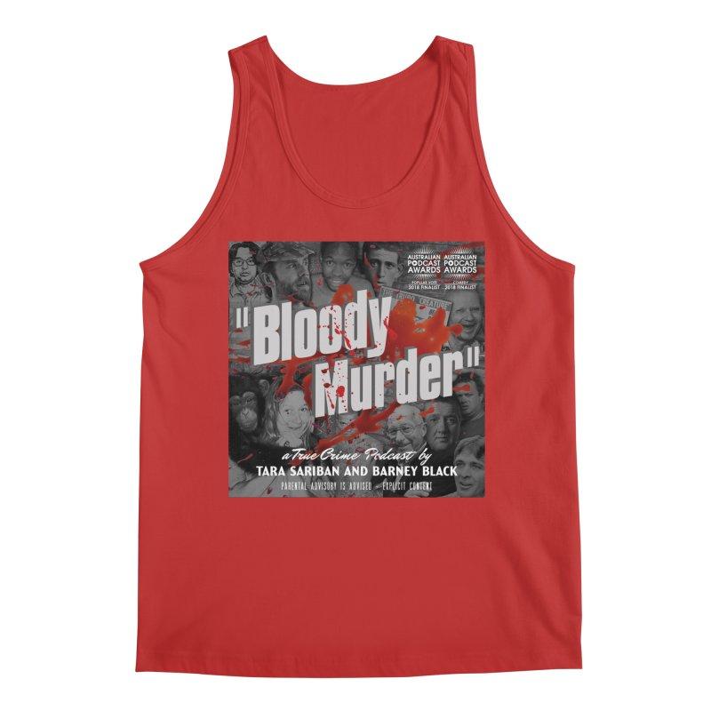 Bloody Murder Podcast Album Cover Men's Regular Tank by Bloody Murder's Artist Shop
