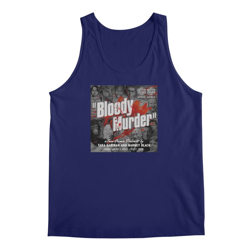 Bloody Murder Podcast Album Cover Men's Regular Tank by bloodymurder's Artist Shop
