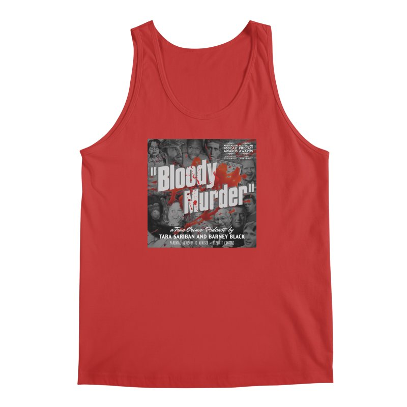 Bloody Murder Podcast Album Cover Men's Regular Tank by Bloody Murder's Artist Shop