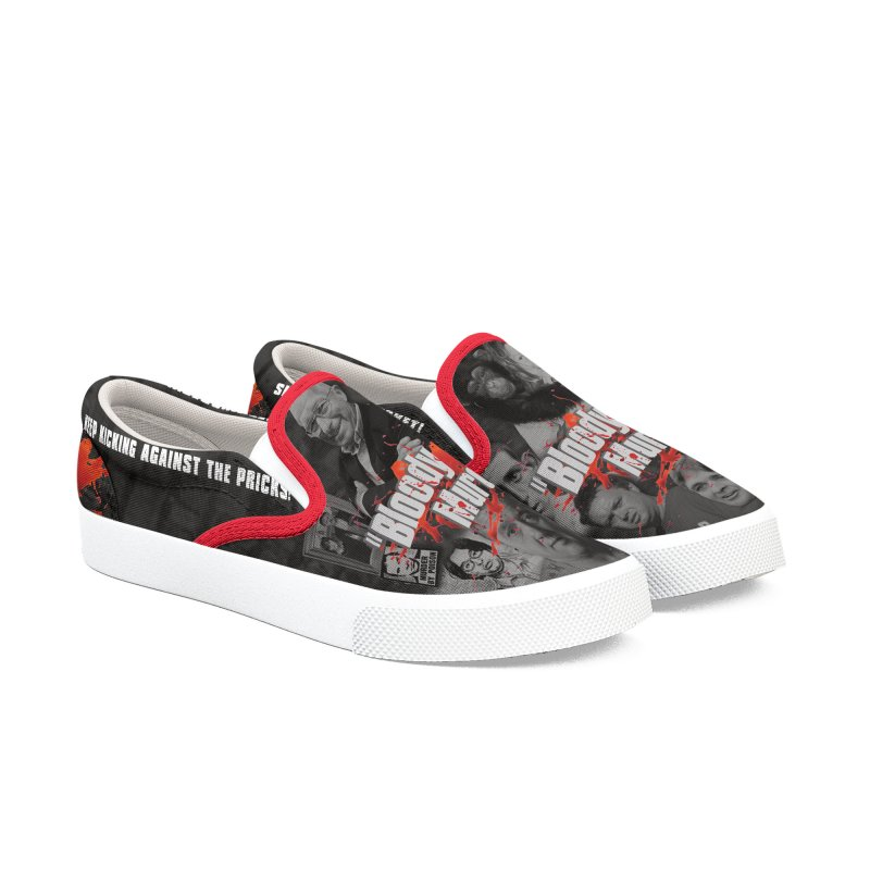 Bloody Murder Shoes Women's Slip-On Shoes by Bloody Murder's Artist Shop
