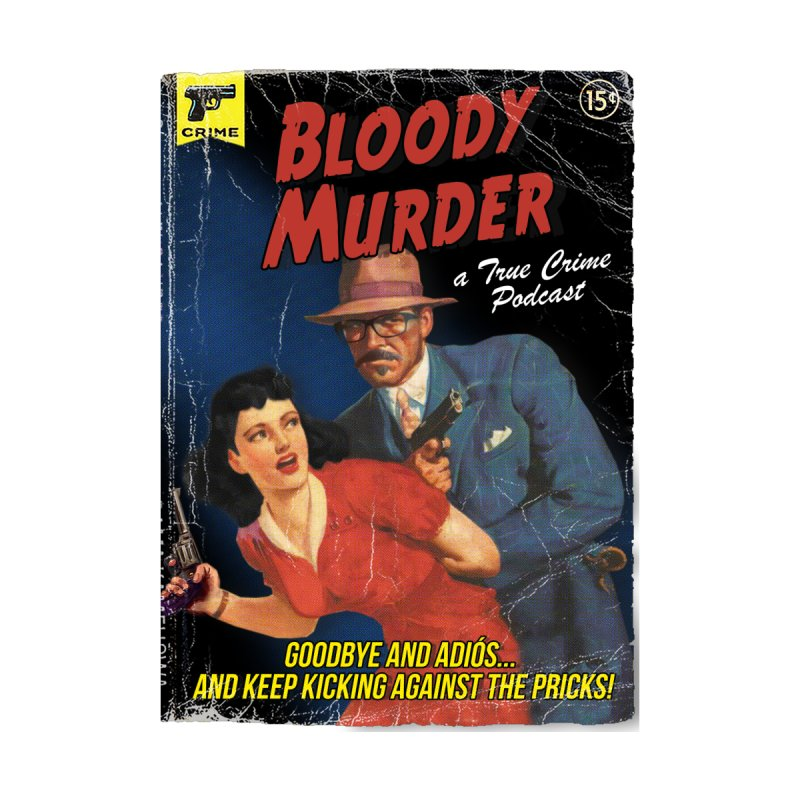 Bloody Murder Pulp Novel Accessories Sticker by Bloody Murder's Artist Shop