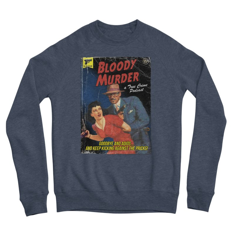Bloody Murder Pulp Novel Men's Sponge Fleece Sweatshirt by Bloody Murder's Artist Shop
