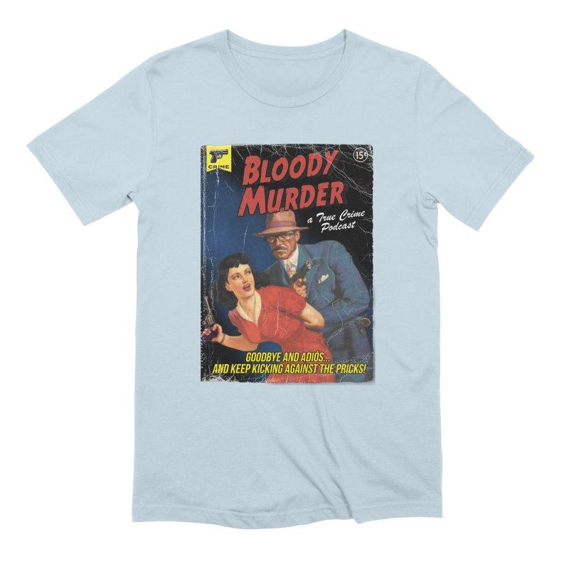 Bloody Murder Pulp Novel Men's Extra Soft T-Shirt by bloodymurder's Artist Shop