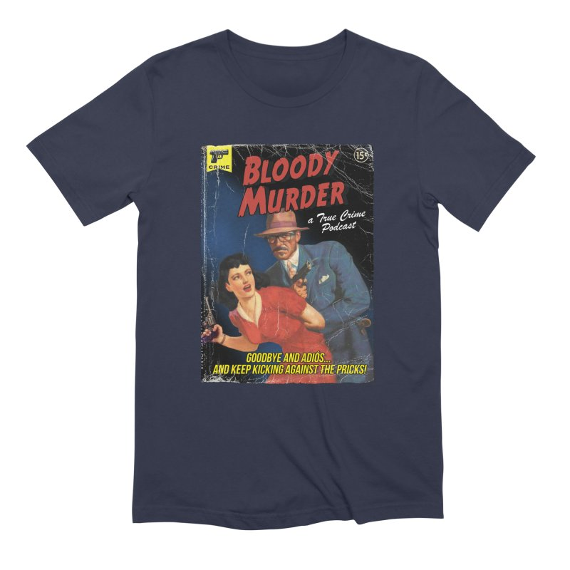 Bloody Murder Pulp Novel Men's Extra Soft T-Shirt by Bloody Murder's Artist Shop