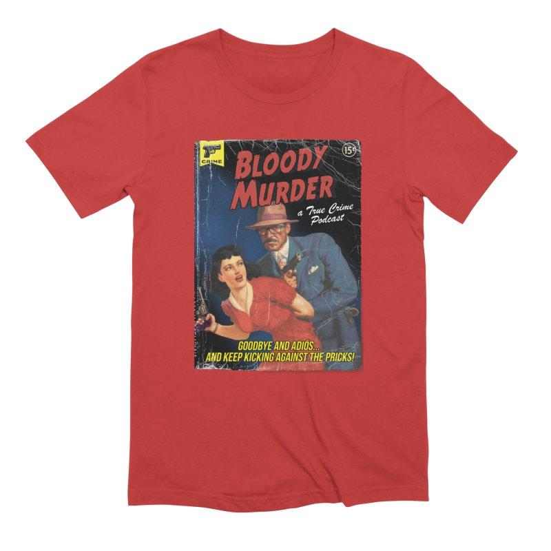 Bloody Murder Pulp Novel Men's Extra Soft T-Shirt by Bloody Murder's Artist Shop