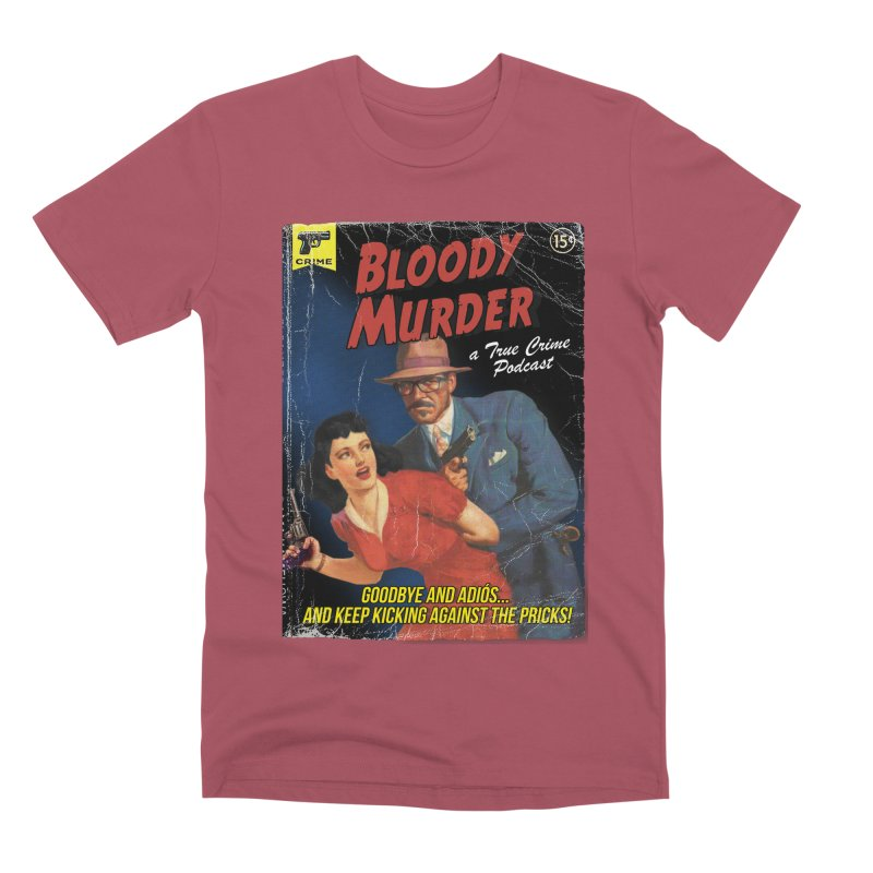 Bloody Murder Pulp Novel Men's Premium T-Shirt by bloodymurder's Artist Shop