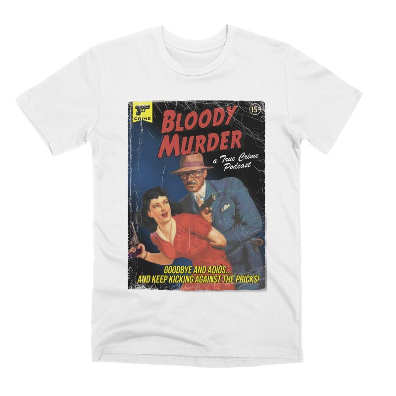 Bloody Murder Pulp Novel Men's Premium T-Shirt by Bloody Murder's Artist Shop