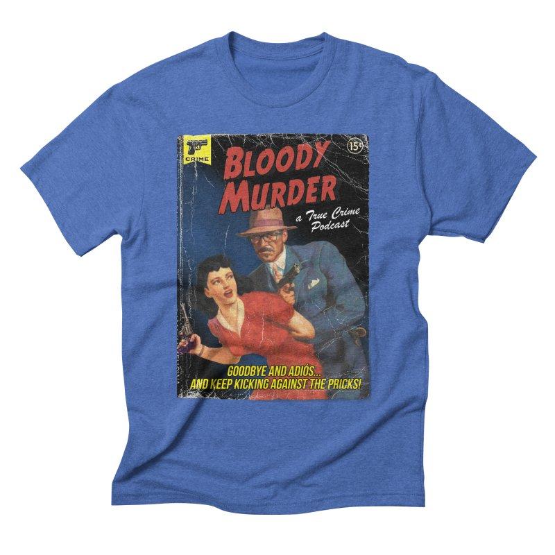 Bloody Murder Pulp Novel Men's T-Shirt by Bloody Murder's Artist Shop