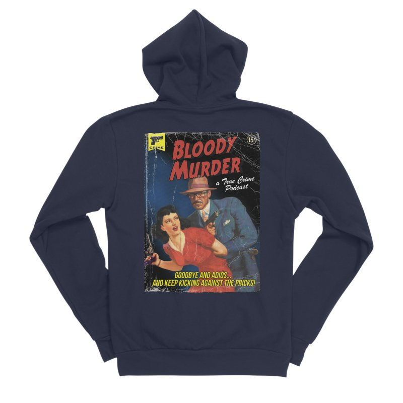 Bloody Murder Pulp Novel Women's Sponge Fleece Zip-Up Hoody by bloodymurder's Artist Shop