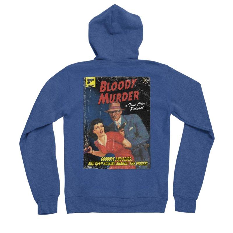 Bloody Murder Pulp Novel Men's Sponge Fleece Zip-Up Hoody by bloodymurder's Artist Shop