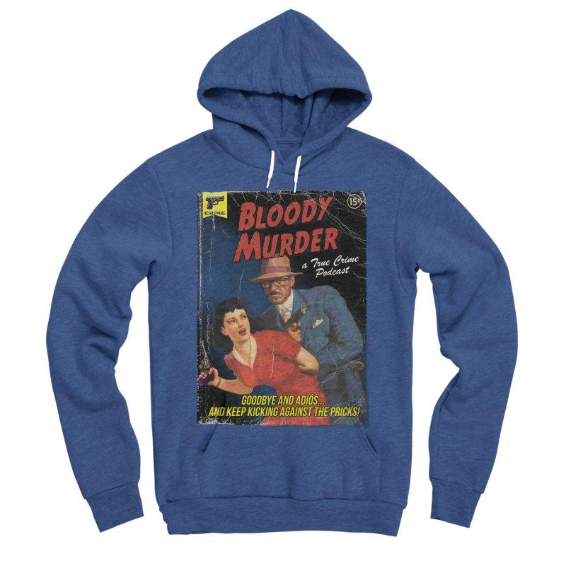 Bloody Murder Pulp Novel Men's Sponge Fleece Pullover Hoody by Bloody Murder's Artist Shop