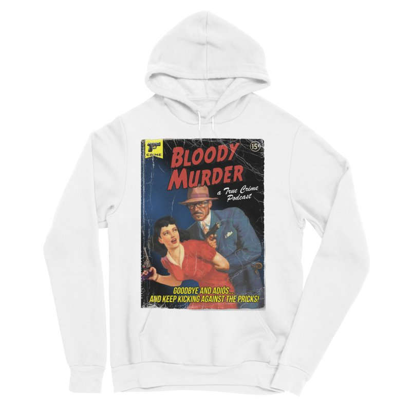 Bloody Murder Pulp Novel Men's Sponge Fleece Pullover Hoody by bloodymurder's Artist Shop