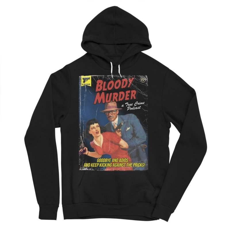 Bloody Murder Pulp Novel Men's Sponge Fleece Pullover Hoody by Bloody Murder's Artist Shop