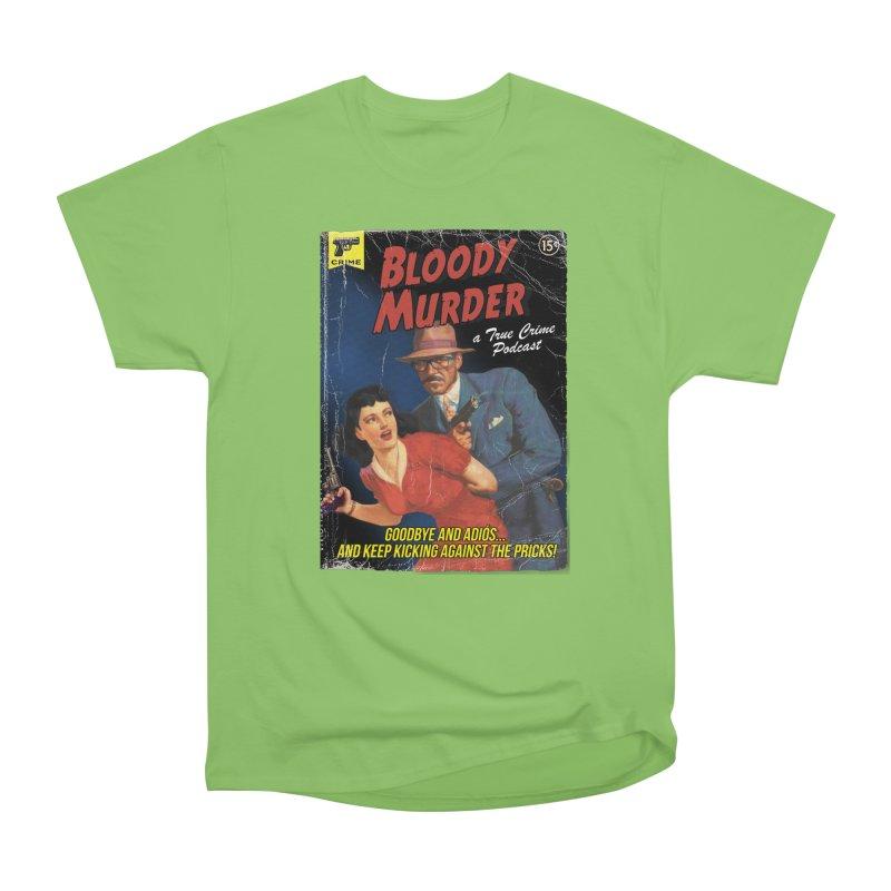 Bloody Murder Pulp Novel Men's Heavyweight T-Shirt by bloodymurder's Artist Shop