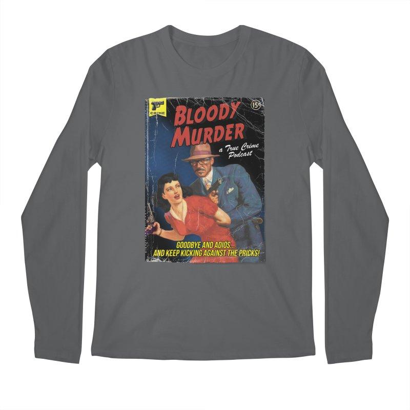 Bloody Murder Pulp Novel Men's Regular Longsleeve T-Shirt by Bloody Murder's Artist Shop